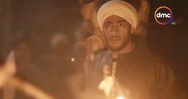 مسلسل موسى الحلقة 3 ..محمد رمضان يحرق حميد وينتقم لوالدته