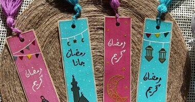 """""""إيمان"""" صممت فواصل المصحف بفوانيس وألوان مبهجة مناسبة لأجواء رمضان"""