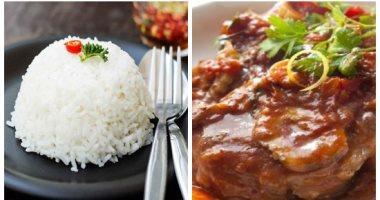 فطار رابع يوم رمضان.. طريقة عمل طاجن الريش البقرى مع الأرز الأبيض