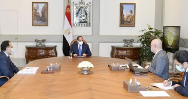 الرئيس السيسي يوجه بتطوير منطقة الفسطاط وزيادة نسبة المسطحات الخضراء