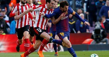 صورة أتليتك بلباو ضد برشلونة.. البارسا زعيم أندية إسبانيا في كأس الملك بـ 30 لقبا