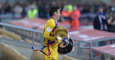 ميسي: فخور بأني قائد لـ برشلونة وسنواصل الكفاح لحصد لقب الدوري الإسباني