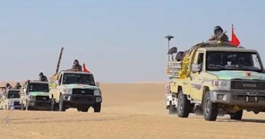 قوات حرس الحدود تضبط 125 ألف طلقة وتدمر 5 أنفاق خلال شهر