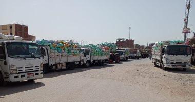 توريد 292 ألف طن من القمح لصوامع وشون محافظة الشرقية