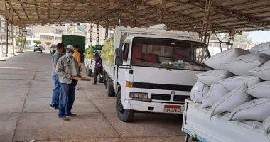 توريد 249 ألف طن قمح لشون وصوامع محافظة البحيرة