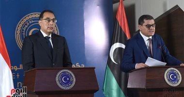 الدكتور مصطفى مدبولي، رئيس مجلس الوزراء ورئيس الوزراء الليبيى