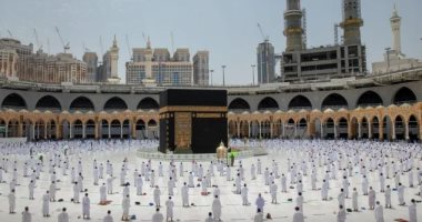 السعودية نيوز |                                              أداء آخر صلاة جمعة من شهر رمضان المبارك بالمسجد الحرام