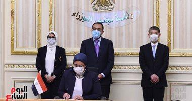 """رئيس الوزراء يشهد توقيع اتفاقيتين لتصنيع لقاح """"سينوفاك"""" الصينى فى مصر"""