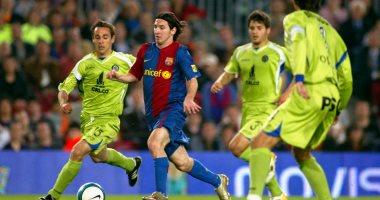 صورة مدفع الإفطار.. ميسي يكرر ما فعله مارادونا ويسجل الأفضل في تاريخ برشلونة