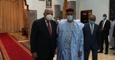 وزير الخارجية يسلم رئيس النيجر رسالة من الرئيس عبد الفتاح السيسى