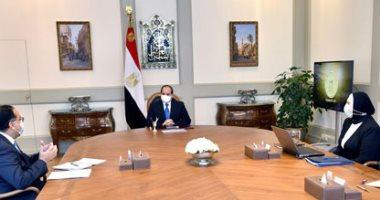 الرئيس السيسى يوجه بتقديم كافة المساعدات لدعم الأشقاء الليبيين بجميع المجالات