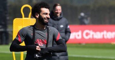 محمد صلاح يبدأ الاستعداد مع ليفربول لمواجهة نيوكاسل بالدوري الإنجليزي.. صور