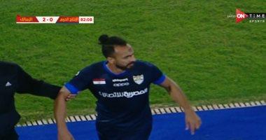 اتحاد الكرة: محمد طلعت يواجه الإيقاف 4 مباريات بعد البصق على الزمالك
