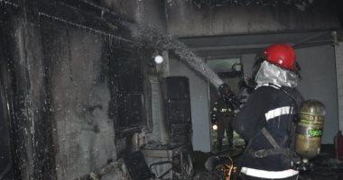 مصرع شخص فى حريق شقة سكنية بمنطقة عين شمس