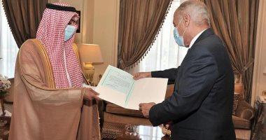 السعودية نيوز |                                              السفير عبدالرحمن الجمعة يقدم أوراق اعتماده للأمين العام للجامعة العربية مندوبا جديدا للسعودية