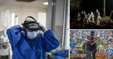 البرازيل تسجل 14423 إصابة جديدة بفيروس كورونا