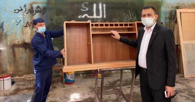 رمضان فى السجن.. ورش نجارة لإنتاج أثاث صنع خلف الأسوار.. فيديو