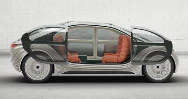 تصميم سيارة كهربائية ذاتية القيادة ترشح الهواء وتتخلص من التلوث