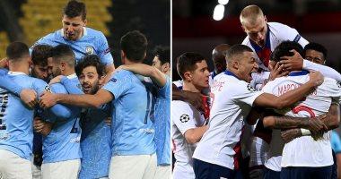 التشكيل المتوقع لقمة مانشستر سيتى ضد باريس سان جيرمان بدورى الأبطال