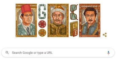 جوجل يحتفل بذكرى ميلاد الفنان الراحل نور الشريف