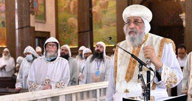 البابا تواضروس يترأس قداس شم النسيم بدير الأنبا بيشوى بوادى النطرون