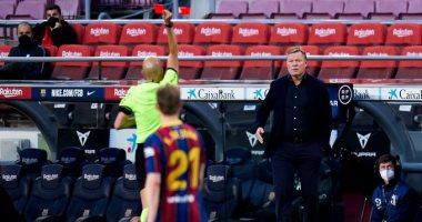 كومان يغيب عن قمة برشلونة ضد أتلتيكو مدريد بعد رفض استئناف البارسا
