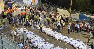 ارتفاع عدد ضحايا انهيار جسر خلال مهرجان يهودى بإسرائيل لـ44 قتيلًا