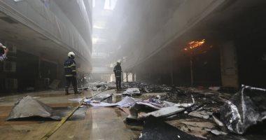 مصرع 15 شخصا من مرضى كورونا فى حريق بمستشفى غرب الهند