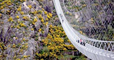 أطول كوبرى مشاة معلّق فى العالم طوله 516 متراً على علو 175 متراً شمال البرتغال..ألبوم صور