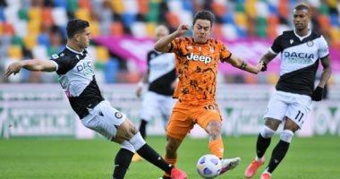 يوفنتوس يتأخر أمام أودينيزى بهدف بالشوط الأول فى الدوري الإيطالي.. فيديو