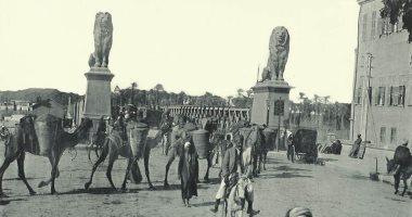 """100 صورة عالمية.. """"كوبرى قصر النيل"""" أسود يحرسون العبور"""
