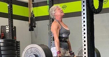 قصة الجدة مارى .. بطلة دولية فى رفع الأثقال عمر ها 71 عامًا