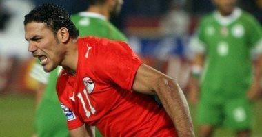 احتفالات خالدة.. عمرو زكي يحتفل بالهدف الأول في الجزائر بالتصفيات المؤهلة للمونديال 2010