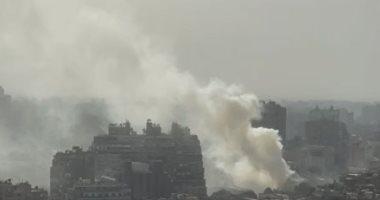 السيطرة على حريق مخلفات على كورنيش النيل بمنطقة الزمالك دون إصابات..فيديو