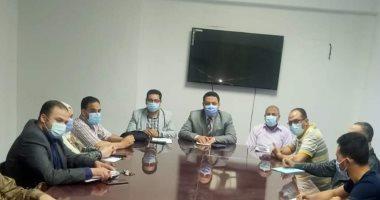 وكيل صحة المنوفية يناقش فتح 7 مراكز جديدة لتطعيم المواطنين بلقاح كورونا