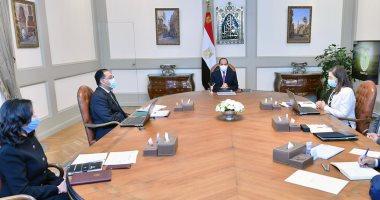 الرئيس السيسى يستعرض جهود الحكومة في دعم إطلاق تقرير التنمية البشرية في مصر.. ويوجه بالتوثيق الدقيق لكافة جهود الدولة بجميع القطاعات على مستوى الجمهورية خلال السنوات الماضية
