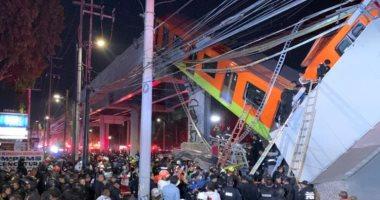 لحظة انهيار جسر معلق بالمكسيك تزامنا مع مرور قطار.. فيديو