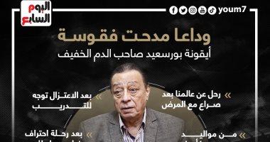 وداعا مدحت فقوسة.. محطات فى حياة فكاهى الكرة المصرية.. إنفوجراف