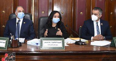 مايا مرسى: المرأة تعيش عصرها الذهبى بعهد السيسى.. ونتمنى وصول نسبتها بالبرلمان 50%.. صور