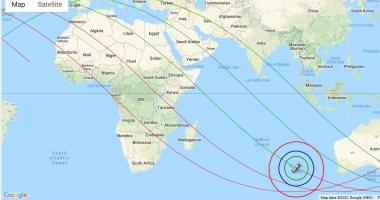 معهد الفلك الدولى: الصاروخ الصينى يقع غدا بين الساعة 00:03 و08:03 بتوقيت جرينتش