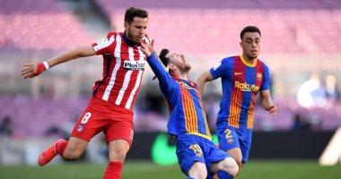 برشلونة وأتلتيكو يخدمان ريال مدريد ويتعادلان سلبيا في الدوري الإسباني