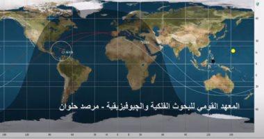 شاهد رصد الصاروخ الصينى لحظة بلحظة بمرصد حلوان