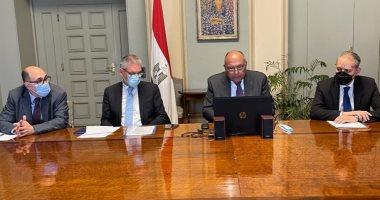 وزير الخارجية: مصر تجري اتصالاتها المكثفة لضمان تهدئة الأوضاع فى القدس