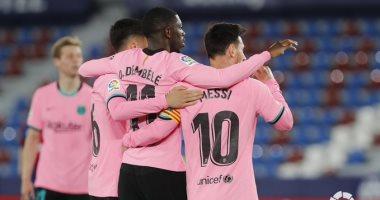 برشلونة يواصل مسلسل إهدار النقاط بتعادل مخيب أمام ليفانتي