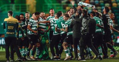 سبورتنج لشبونة يحصد لقب الدوري البرتغالى بعد غياب 19 عاما.. صور