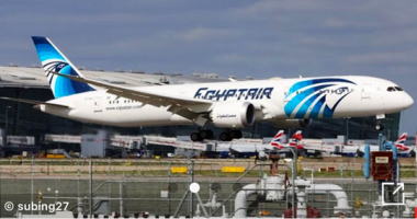 الطائرة الناقلة لدفعة لقاح كورونا