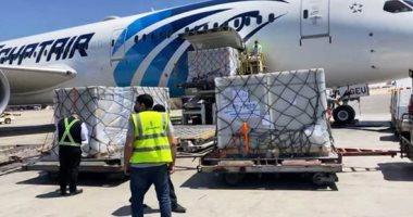 """وصول دفعة جديدة من لقاح كورونا """"سينوفارم الصينى"""" إلى مطار القاهرة"""