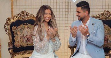 على غزلان يعلن خطوبته على فرح شعبان ملكة جمال مصر 2017 بصور ورسالة رومانسية