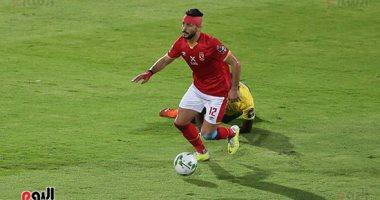 طاهر محمد طارهر في مباراة صن داونز