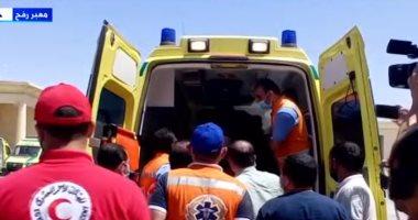 تضامن شمال سيناء توفر خدمات عاجلة للجرحى الفلسطينيين في المستشفيات المصرية